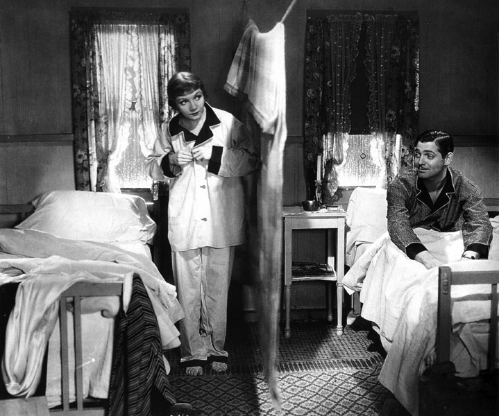 Risultati immagini per accadde una notte film 1934