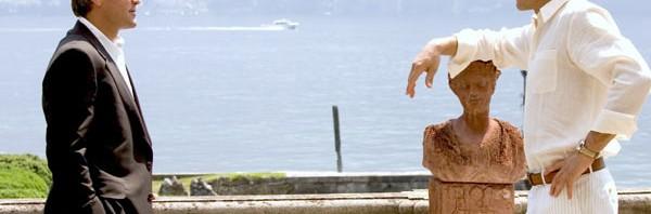 George Clooney e Vincent Cassel in Ocean's Twelve