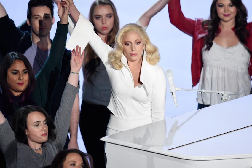 Lady Gaga (foto dal sito degli Oscar)