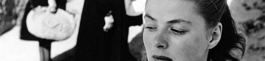 Ingrid Bergman in 'Stromboli' di Rossellini