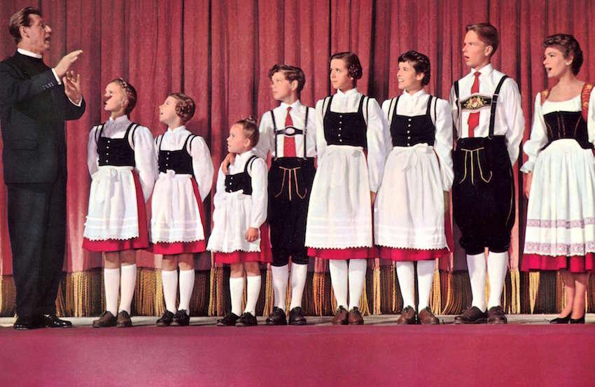 Die Trapp-Familie in Amerika, un film tedesco del 1958 sulla famiglia Trapp, che avrebbe poi ispirato nel 1965 Tutti insieme appassionatamente.