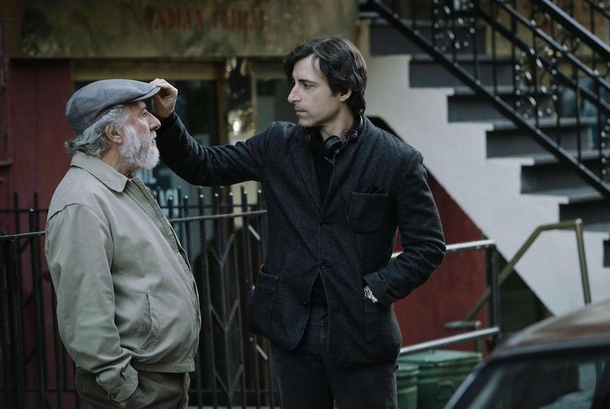 Dustin Hoffman con Noah Baumbach