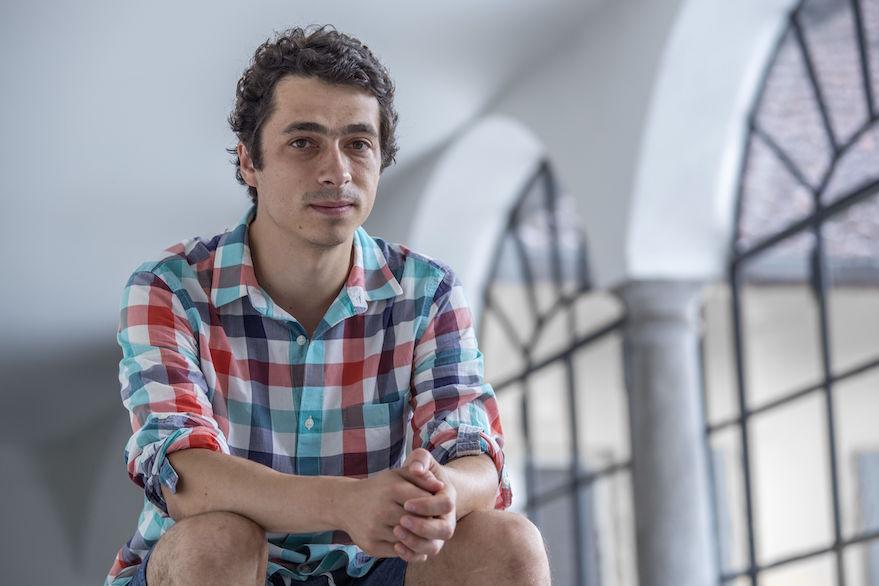 Il regista Ilan Metlev (foto Locarno Festival/Marco Abram)