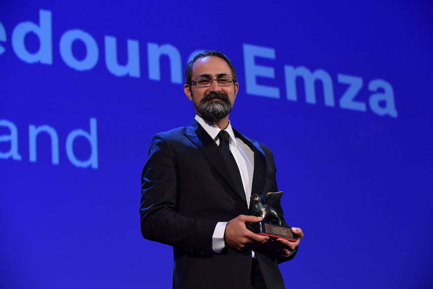 Vahid Jalilblad, premiato a Veneziia Orizzonti per la migliore sceneggiatura. Photo © Biennale Cinema/ASAC