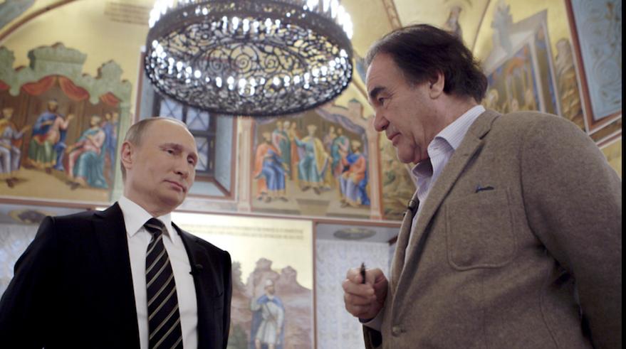 Stone meets Putin